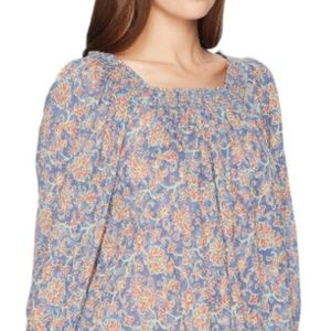 Chaps Womens Sofie 3/4 Sleeve Blouse